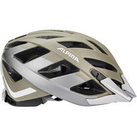 Alpina Panoma 2.0 City Kask rowerowy, sepia-darksilver reflective